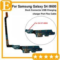 Prueba aprobada Cargador de carga original Conector Puerto USB Cable flex de acoplamiento para Samsung Galaxy S4 S4 4G GT-i9505 I337 VS I9500 M919