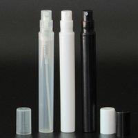 5ML 소형 명확한 플라스틱 스프레이 병 휴대용 귀여운 향수강의 분무기를 위한 청소,여행,에센셜 오일,향수