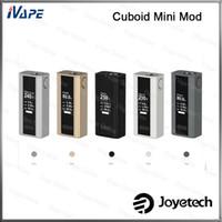 100% Original Joyetech Cuboid Mini-Batterie 80W 2400mAh TCR-Modus mit Bodenbelüftungsöffnungen Firmware Aktualisierbare TCR-Option verfügbar