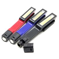 COB LED Clip Work Light Pen Torch Magnetic Pocket Torch Insp...