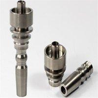 10mm Titan Tabaknagel mit Außenverbindung für Rauchglas Shisha Wasserrohr paßt in 10 mm Innenverbindungs