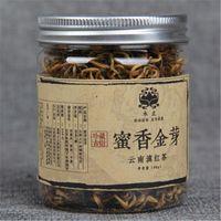 Promozione 40g Yunnan in scatola Dianhong tè nero cinese di Kungfu Tè rosso Miele Fragrance gemme d'oro grandi foglie di tè organico