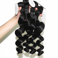 Brazilian Virgin Hair Loose Wave 3 Bundles Brazilian Hair We...