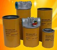 filtros de óleo hidráulico com cabeça de filtro e elemento de filtro retorno óleo de entrada de óleo de alta qualidade