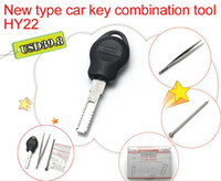 New type car key combination tool HY22 Auto key restructuring tools Key moulds clamps pick tool locksmith tools