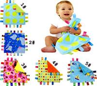 30 * 30 cm Emotion Pasifize Battaniye Karikatür Renkli Bebek Havlu Kundak Şal Battaniye Battaniye Havlu Bebek Bebek Bebek Battaniye