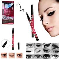 액체 Eyeliner 블랙 방수 펜 액체 Eyeliners 아이 라이너 연필 메이크업 아이 라이너 아름다움 Comestics 도매 0049-24MU