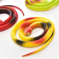 Gift Tricky Funny Spoof Toys Simulation Soft Scary Fake Snak...