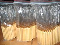 شحن مجاني 100 قطع حلقة سحب إبرة أدوات الشعر مايكرو ل عراف مقبض خشبي