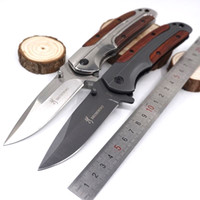 Browning DA43 Folding Pocket Knife Titanium Tactical Knives ...