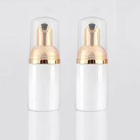Großhandel 30 teile / los 30 ml Leere Weiße Flüssigseife Schaum Dispenser Pumpe Container Schäumen Make-Up Kunststoff Reise Flasche, DIY Schäumen Flaschen