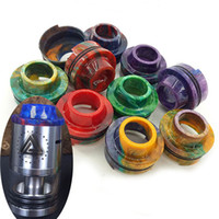 Vaporizador Resina Drip Tips para Ijoy Limitless RDTA 24,2 mm de diámetro boquilla 510 goteo punta ilimitada RDA goteo consejos envío gratis DHL