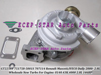 GT2256V 751758-5001S 751758-0001 751758 707114 Turbo Turbocompressore per Renault Mascott IVECO Daily 2000- 8140.43K.4000 2.8L 146HP