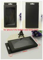 iPhone 5S 6Sのための携帯電話ケースの空白の小売包装紙の包装箱の包装箱はプラスチックトレイの注2ケース