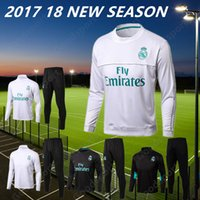 17 18 REAL MADRID Tracksuits TraIning KITS outfits Jacket Pa...