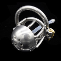 Nuevo dispositivo de castidad masculina del tubo uretral de acero inoxidable PA lock A222
