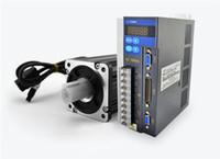 NOVO Kit de Transmissão de Servo Motor AC CNC 1PH 220 V 80mm 4NM 1kW 2500 RPM 4.4 A com 3 M Cabo para CNC Router máquina