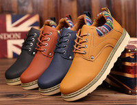 Spring and autumn and winter fashion casual shoes. Fashion shoe. British leather shoes. Single shoes. Flat shoes. Men's Shoes.With velvet.