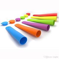 Großhandel Silikon Push Up Eis Gelee Lolly Pop Für Popsicle Maker Mould DIY H210266