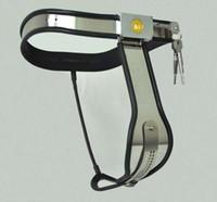 Cintura di castità femminile in vita da donna con cinturino in similpelle Cintura di castità femminile in acciaio con cintura anti-sdegno per prevenire il deragliamento