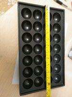 Gaz tipi 28 delik takoyaki yapımcısı Çapı 40 MM Takoyaki tava ile yapışmaz