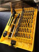 المهنية 45 في 1 متعددة الخلايا الدقة إصلاح الهاتف مجموعة مفك الأدوات اليدوية كيت للجميع افتتاح المحمول إصلاح أدوات تفكيك