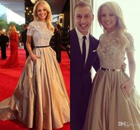 elie saab Lace Top Celebrity Kleider Roter Teppich Kleider Kristall Abendkleid Abendkleider Kurzarm Party Kleider robe de soiree