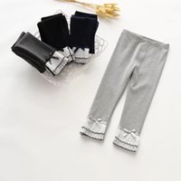 Basic Icing Pants for Girls 2017 Fall Cotton Frostings leggi...
