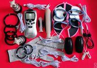 Elektroşok Şok Kiti Elektrik Çarpması Terapi Makine Erkek Mastürbasyon Cihazı BDSM Dişli Yetişkin Seks Oyunları Ürünleri Oyuncaklar