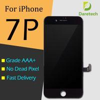 İPhone 7 Artı LCD Ekran için Yüksek Kaliteli Dokunmatik Paneller Ekran Digitizer Tam Montaj Tamir Parçaları Ile Köpük Paketi 2 Renkler