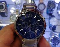 New AR2448 2448 Quartz Chronograph mens Watch Japan Movement...