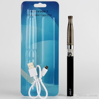 Le sigarette Vape vaporizzatore eGo UGO-T H2 Starter Kit UGO T MT3 Evod Vape penna elettronica con micro USB Charger Blister China Direct