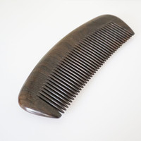 Wood Comb Hair Care Styling Handmade Fine Tooth Beauty Vinta...