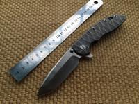 CNC Rick Histerer CTS-18HP XM-18 XM18 Стиль Flipper D2 Blade Titanium Ручка EDC TACTICAL TACTICAL OFFORE SPORTS Спортивный нож