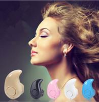 Универсальная мини беспроводная Bluetooth-гарнитура S530 In-Ear V4.1 Stealth наушники-гарнитура для телефона с микрофоном Handfree с коробкой