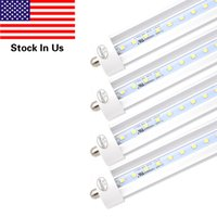 8FT 2. 4M T8 LED Light Tube with FA8 Single Pin - Cold White ...