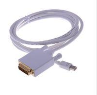 새로운 1.8m Thunderbolt Mini DisplayPort 디스플레이 포트 DP - Apple Mac MacBook Pro Air 용 DVI 어댑터 케이블