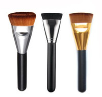 New Professional Soft Makeup Pennelli per contorno piatti Blush Brush Blend Makeup Comestic Tools VS 163 pennello contorno piatto