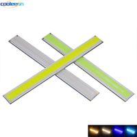 12 V LED Daytime Running Luzes Fonte 170mm 6.7in Frio Azul Branco COB Bar Luzes DRL Lâmpada para DIY Iluminação Do Carro