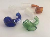 Ciotola per bocchette per fumatori in vetro da 10mm / 14mm / 18mm con bocchino per club