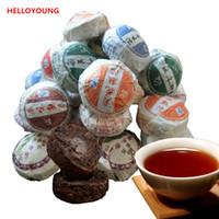 Tercihi 50g Yunnan Üst Sınıf 10 Adet Farklı Tatlar Puer Çay RawRipe Puer Çay Tuocha Organik Doğal; er Eski Ağacı Yeşil Puer Çay