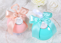 Wedding Favors Box Sweet Candy Favour Boxes Ball Shape Party Favor Holder Boxes Wedding Decoration High Quality