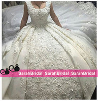 Romantic Ball Bridal Gowns Wedding Dresses 2016 Princess App...