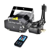 AUCD Blau / Schwarz Mini Tragbare RG Meteor Laser Projektor Lichter DJ Bars KTV Home Weihnachtsfeier Dsico Show LED Bühnenbeleuchtung EP OI100