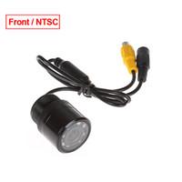 자동차 후면보기 카메라 자동차 자동 28mm 170도 전면 IR LED 라이트 NTSC # 1366와 색상 야간 투시경 카메라보기