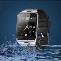 Auf Lager DZ09 Bluetooth Smart Watch Sync SIM-Karte Telefon Smart Uhr für iPhone 6 Plus Samsung S6 Hinweis 5 HTC Android IOS Telefon VS U8 GV18 LX3