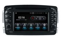 Android10.0 PX5 OCTA COE 64G ROM VOITURE DE DVD de voiture de 7 pouces pour MERCEDES BENZ CLK CW209 / C W203 / A W16 / G W463 / VIANO / VITO / VANEO WIFI GPS Radio FM