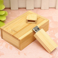 Wholesale- Wooden USB 2. 0 Flash Drive Pen Drive U Disk Memor...