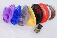 Wedding Hats Feathers Hat Costume Marriage Gauze Cap Lady Wo...