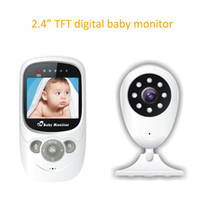 2,4-Zoll-Wireless-Baby-Monitor-Video-Überwachungskamera 2,4 GHz-Monitor Bebe Audio-Nachtsicht-Temperatur-Erkennung
